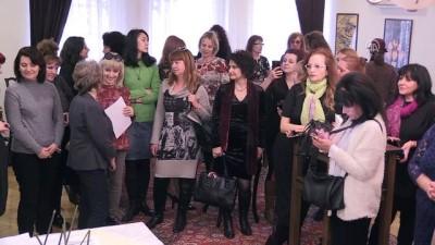 Bulgaristan'da Kadınlar Günü, Ebru sanatıyla kutlandı - FİLİBE