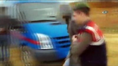 Kardeş akü hırsızlarına jandarmadan suçüstü kamerada