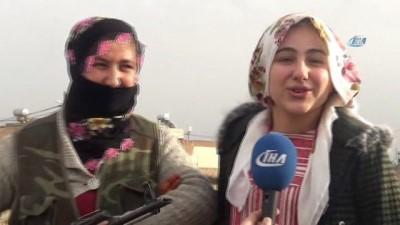 Mardin'in 'Şerife Bacıları' gece gündüz vatan nöbeti tutuyor