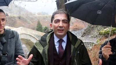 Suç duyurusunun ardından tarihi köprüde inceleme yapıldı - TUNCELİ