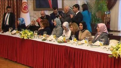 TBMM Başkan İsmail Kahraman, kadın milletvekilleri ile bir araya geldi