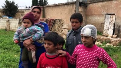 Teröristlerin tanksavarla yaraladığı siviller güvenli bölgede - AFRİN