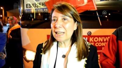 'Vicdan Konvoyu'na Eskişehir'den destek