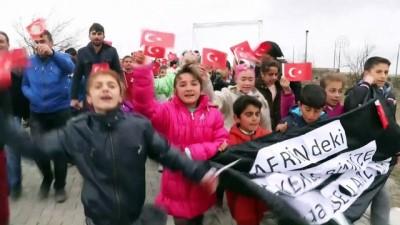 Afrin'deki Mehmetçik'e öğrencilerden destek - IĞDIR