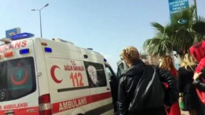 Antalya'da 6. kattan düşen minik Beren hayatını kaybetti