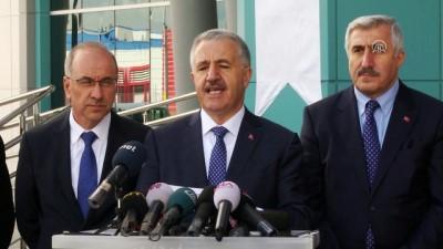 Bakan Arslan: '16-17 Nisan gibi Başkentray'ı Ankaralıların hizmetine sunacağız' - ANKARA