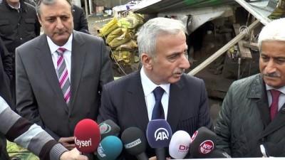 Kaçak kazıya baskın yapan polis 'tarihi' korudu - KAYSERİ