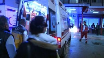 Maganda kurşunu biri kadın 2 kişiyi yaraladı