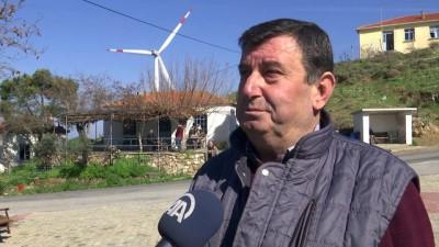 Mahallenin elektrik faturasına 'rüzgar' katkısı - İZMİR