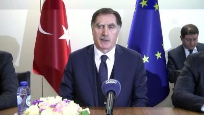 Malkoç, Türk sivil toplum örgütleri ve Avrupalı ombudsmanlarla görüştü - BRÜKSEL