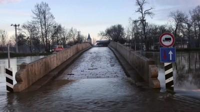 Tunca Nehri'nin debisi düşüşe geçti - EDİRNE