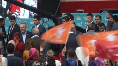Bakan Çavuşoğlu AK Parti Diyarbakır Gençlik Kolları Kongresine katıldı