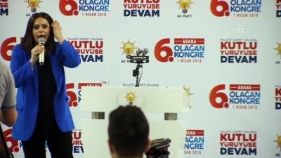 Bakanlar Sarıeroğlu ve Eroğlu - AK Parti Adana 6. Olağan İl Kongresi - ADANA