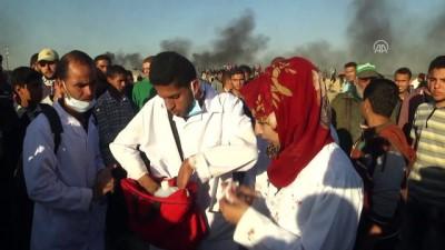 Gönüllü sağlıkçı Rezzan, Filistinli yaralılara şifa dağıtıyor - GAZZE
