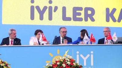 İYİ Parti 1. Olağanüstü Kurultayı tamamlandı - ANKARA