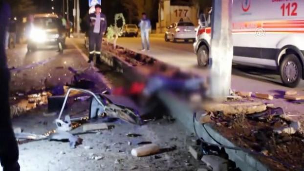 Adana'da Otomobil Devrildi: 1 Ölü, 3 Yaralı ile ilgili görsel sonucu