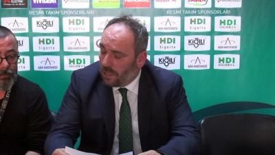 Yeşilgiresun Belediyespor-Galatasaray Odeabank basketbol maçının ardından - GİRESUN