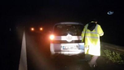 Otoyolda yoğun sis kazaya neden oldu;1 ölü