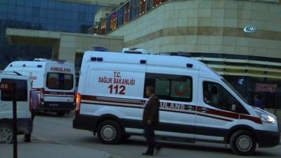 Şimşek çakması sonucu 1'i ağır 8 güvenlik korucusu yaralandı