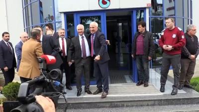 Trabzonspor'da devir teslim töreni - Yönetim kurulu üyesi Hacısalihoğlu - TRABZON