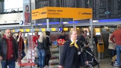 - Uyarı grevleri hava ulaşımını vurdu - Lufthansa 800 uçuşu iptal etti - 90 bin yolcu grevden etkilendi
