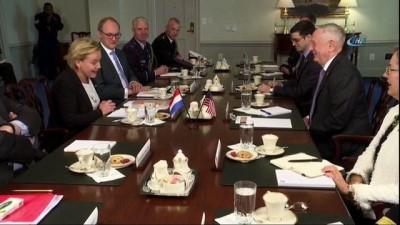 """- ABD Savunma Bakanı Mattis: """"Başkana seçenek sunmaya hazırız"""""""