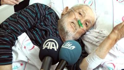 Asker arkadaşları 72 yıl sonra hastane odasında buluştu - KARAMAN