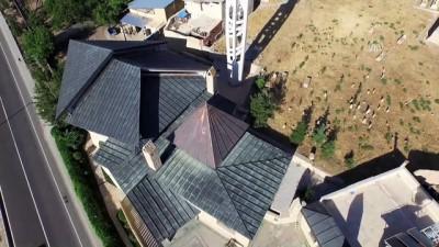 Beşgen cami mimarisiyle dikkati çekiyor - MALATYA