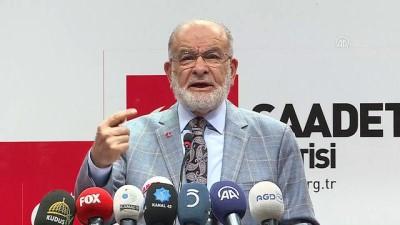 olaganustu hal - Saadet Partisi Genel Başkanı Karamollaoğlu: 'Milletimizle ittifak yapacağız' - ANKARA