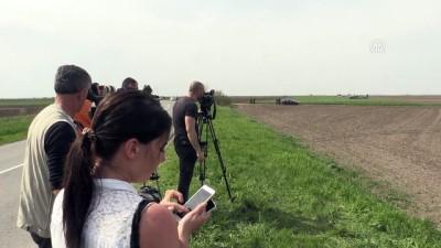 Sırbistan'da askeri eğitim uçağı düştü - KOVACICA