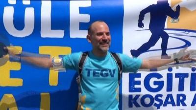 TEGV ile Eğitime Koşar Adım Bin 645 Km
