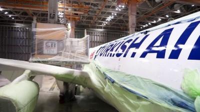 guney yarim kure - THY uçaklarının boyanma öyküsü (2) - İSTANBUL