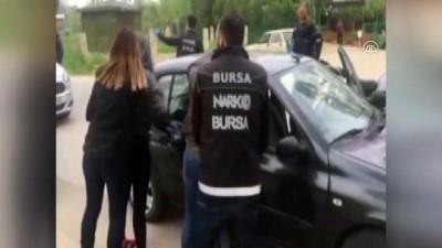 Uyuşturucu operasyonu polis kamerasında - BURSA