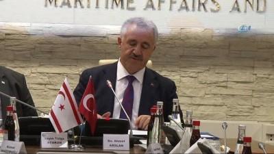 Bakan Arslan: 'KKTC Karayolları Master Planı için 70 milyon ödenek ayırdık'