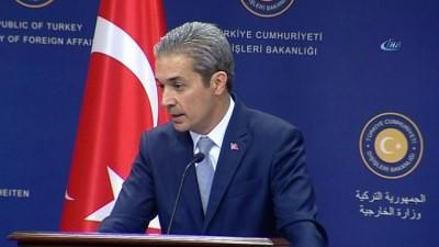 Dışişleri Sözcüsü Aksoy:' Karar tasarısının veto edilmesi kaçırılan bir fırsat'