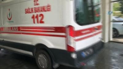 Karaman'da iskeleden düşen işçinin kafatası kırıldı