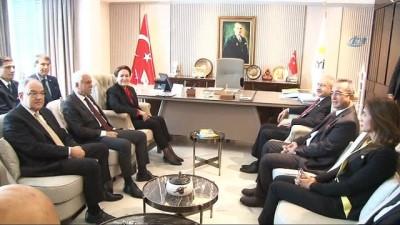 Kılıçdaroğlu ve Akşener'den görüşme sonrası ortak basın açıklaması