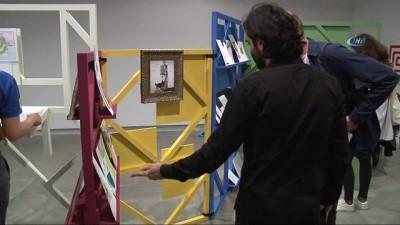 - 'Tanımsız Hizmetler Bürosu ' sergisi sanatseverlerle buluştu