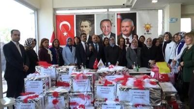AK Partili kadınlardan Mehmetçik ve Kilislilere destek