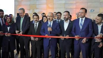 Bakan Elvan, Ahiler Kalkınma Ajansının hizmet binasını açtı