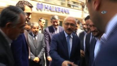 """Bakan Elvan, """" AK Parti'nin başarısı Türkiye'nin başarısı demektir"""""""