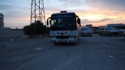 Doğu Guta'dan hareket eden 19. tahliye konvoyu Fırat Kalkanı bölgesine vardı (2) - BAB