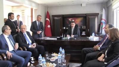 Habur Sınır Kapısı'na revizyon müjdesi - Gümrük ve Ticaret Bakanı Tüfenkci -GAZİANTEP