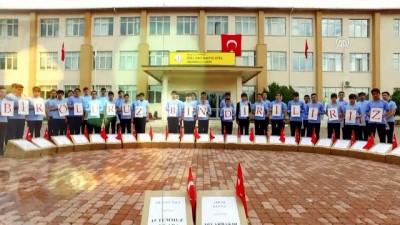 Öğrencilerden 'Afrin, Bosna ve Kudüs' koreografisi - MALATYA
