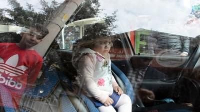 Otomobilde kilitli kalan çocuk kurtarıldı - GÜMÜŞHANE