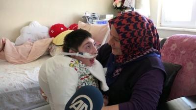 Yaşamı hastanede geçen Eren evine kavuşturuldu - SAMSUN