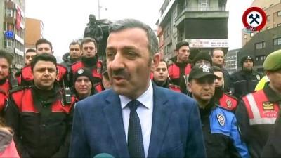 Zonguldak Kömürspor'dan Polise anlamlı klip