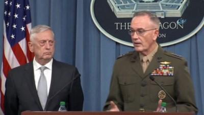 """ABD Savunma Bakanı Mattis : """"Yeni operasyonlar planlanmıyor"""""""