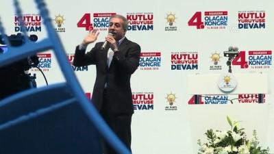 demokratiklesme - AK Parti Başakşehir 4. Olağan İlçe Kongresi - İSTANBUL