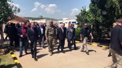 CHP Genel Başkanı Kılıçdaroğlu, sınır karakolunu ziyaret etti - HATAY